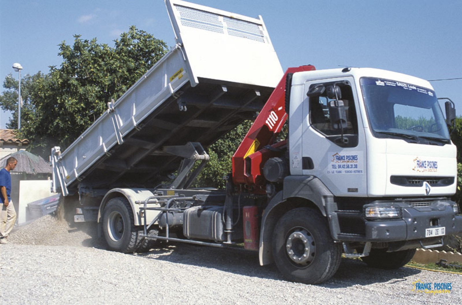 Camion gravier