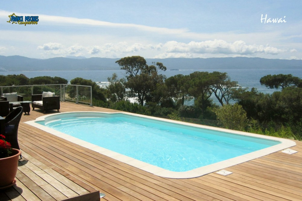 Piscine enterr e 10m2 photo vu sur guide piscine fr for Piscine 10m2